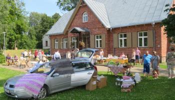 A fair day in Illuka (Estona) in summer 2020 (community service of Illuka village community from Alutaguse municipality, project Act Local)