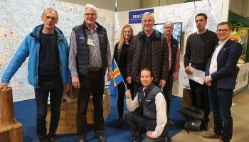CB projects Smart Marina and SEASTOP at boat fair in Helsinki 2020