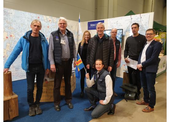 CB projects Smart Marina and SEASTOP at boat fair in Helsinki 2020